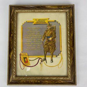 cuadro 3 regimento extranjero de infanteria