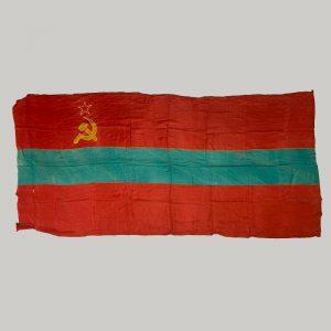 Bandera sovietica Moldavia
