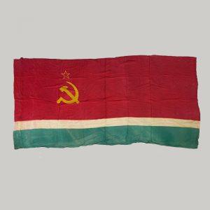 Bandera sovietica Lituania