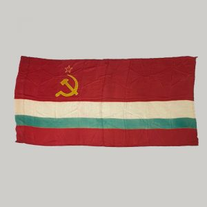 Bandera sovietica Tayikistán