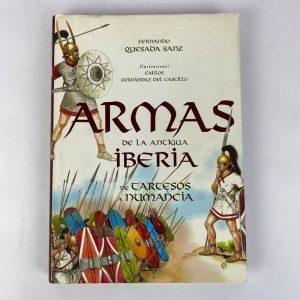 Libro Armas de la antigua Iberia. Fernando Quesada