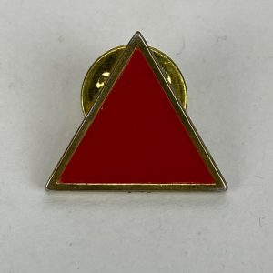 Pin Triangulo Rojo