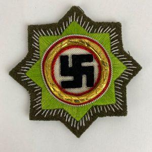 Cruz Alemania Oro Tela Repro