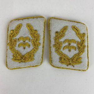 Distintivo de Cuello Generalleutnant Luftwaffe Repro