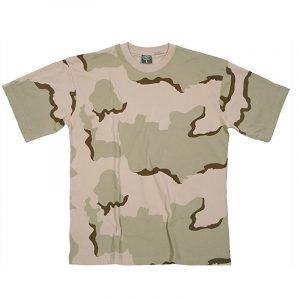 Camiseta Manga Corta Desierto 3 Colores