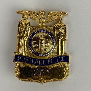 Placa Policial USA Repro