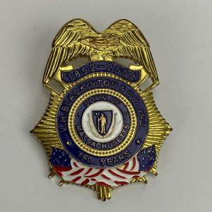 Placa Policial V.H. Blackinton & CO Inc